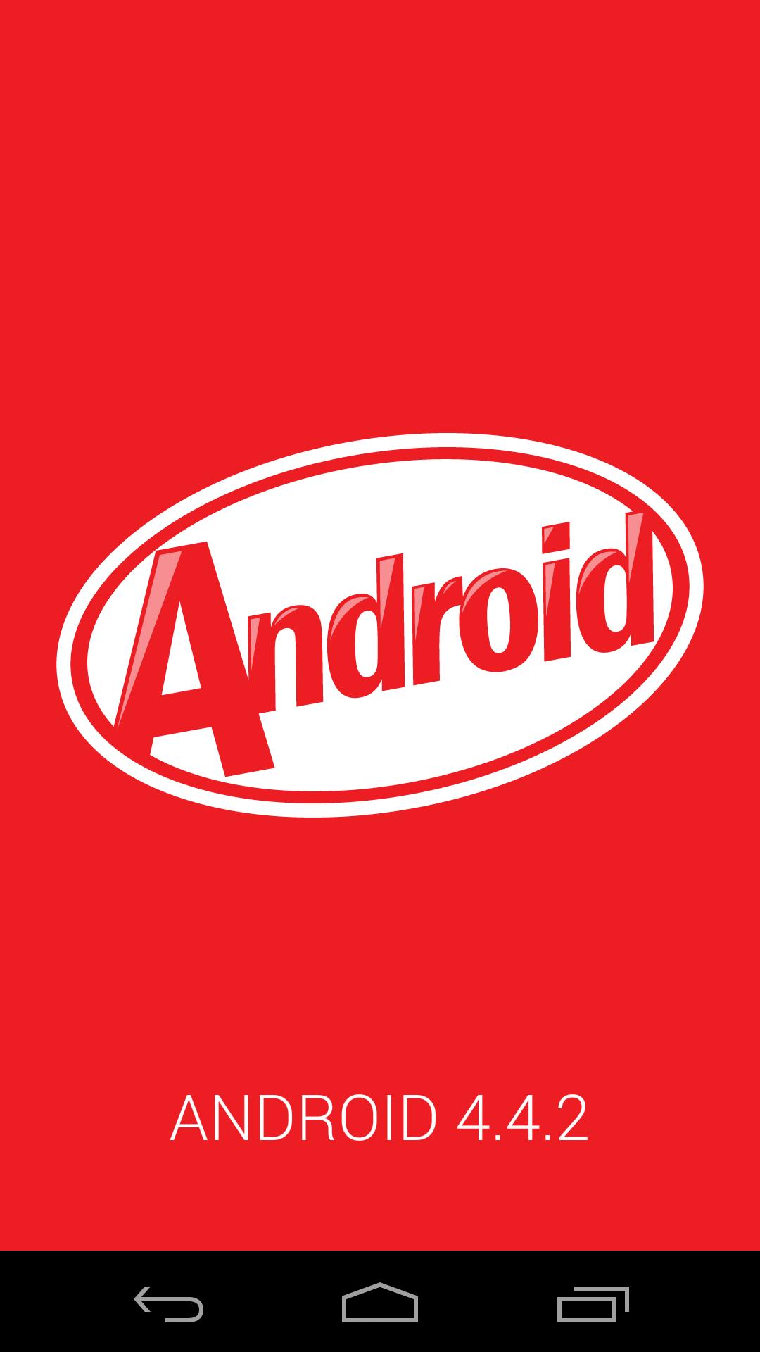 Nexus5 Android4.4.2 KitKat